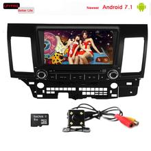 8 inch car dvd player gps navi radio auto parts for mitsubishi lancer evolution