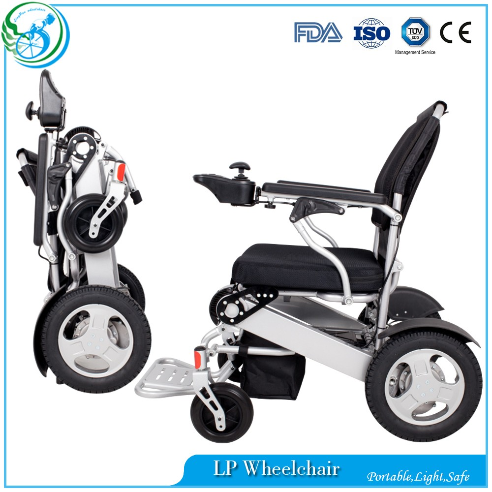 Folding Transport Wheelchair power electric wheel chair