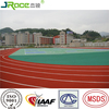 good weather resistance rubber running track athletics track surfaces synthetic rubber track from Guangzhou