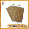 OEM offered CE certificate strong effctive100% natural herbal muscle pain relieving patch