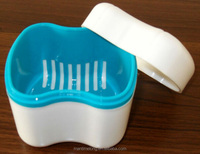 multipurpose storage box box storage container for denture