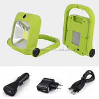 8W Rechargeable working lamp, Latest COB lighting Compact strong and versatile work/ Floodlight