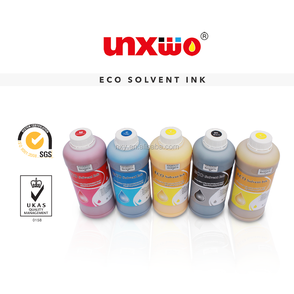 Professional Eco-solvent ink for Wit color ULTRA 9000 printer with EpsonDX5 printhead(lower odor )