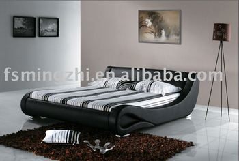 Luxury Italian Leather Bed