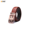 Mens Wristbands Leather Brown Quick Click