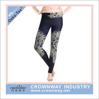 Wholesale Womens Leggings Custom Yoga Pants With Allover Printing