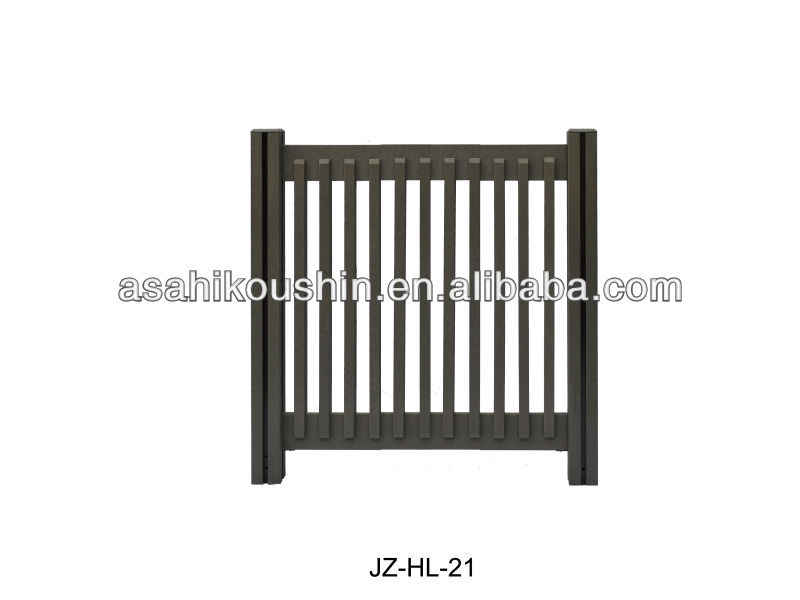Easy Installation Outdoor WPC Fencing and Railing with Japanese Quality
