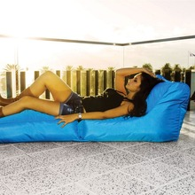 420D waterproof polyester foldable bean bag lounge company foldable sitzsack puff wholesale lazy sofa