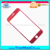 Hot selling for iPhone 7 plus Red Tempered Glass 3d Red back cover for iPhone Mobilephone