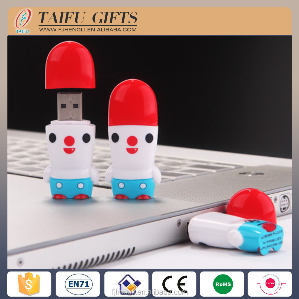 customized 16g cartoon character usb <strong>flash</strong> drive