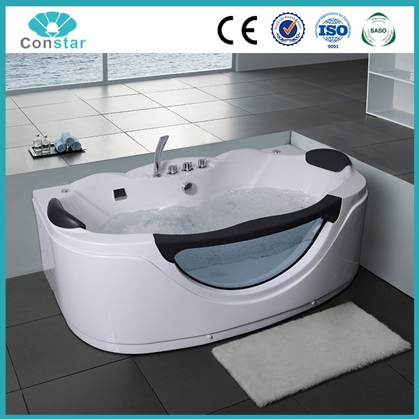 Low Price discount Pure Acrylic safety glass Spa Bathtub