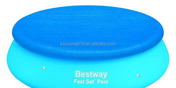 Bestway 15 ft Fast Set Outdoor Plastic Swimming Pool Waterproof Swimming Pool Cover For Sale