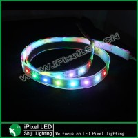 5 Meter length WS2801 RGB LED strip, individually WS2801 addressable White LED Strips 32 Led,32 SMD5050 RGB LEDs