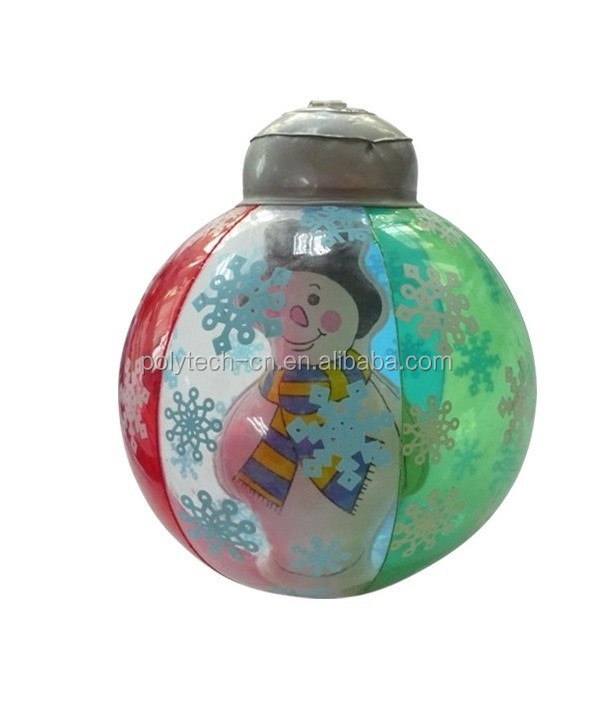 Inflatable Snowman Ball