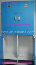 strong 180 degree open door POWDER COATING SURFACE SPA EMPLOYEE supermarket METAL LOCKER