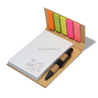 Sticky Note Set With Pen
