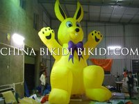 inflatable advertising rabbit cold air balloons
