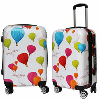 SHENGMING Cartoon Butterfly ABS Luggage Sets