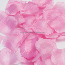 Artificail fabric rose petal for wedding decoration