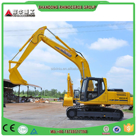 Rhinoceros 2124 35 75 ton Excavator,excavator machine,best 0.93m3 constructions Used excavator with Cummins0 engine
