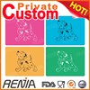 RENJIA pet crate mat training dog mat silicone dog bed waterproof