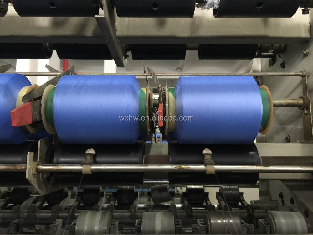 HW383 Lycra Yarn Covering Machine
