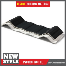 Factory of ribbed virgin black plastic upvc sheet for waterproofing