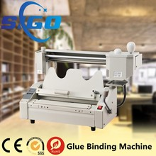 SG-TB02 edge used perfect Glue Binder Book Binding Machine