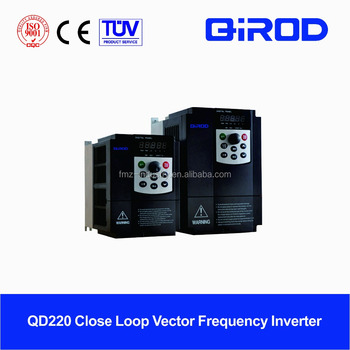 China close loop vector varaible frequency inverter/ac drive with pg card for PMSM & IM