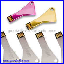 porsche car key usb flash drive laser logo/silk color logo printing