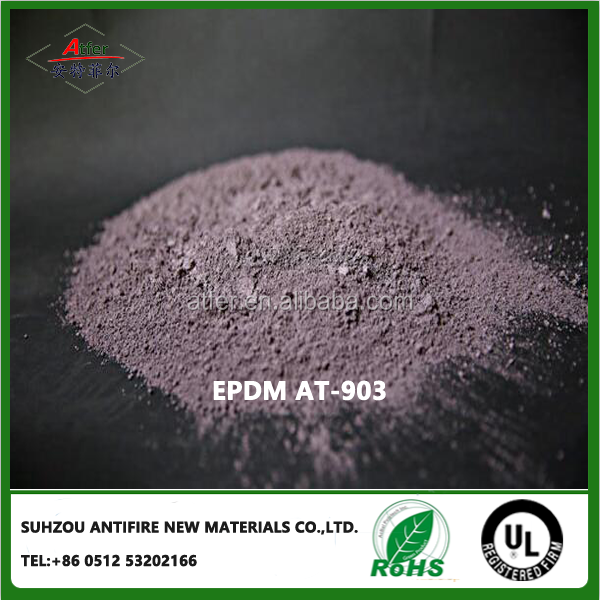 EPDM for the use of rubber raw materials