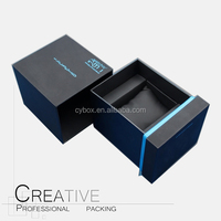 Wrist watch box factory paper & leather watch box hot sale