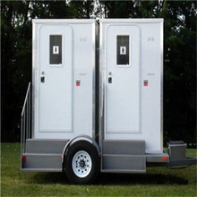 Modular Prefabricated Mobile Trailer Toilet