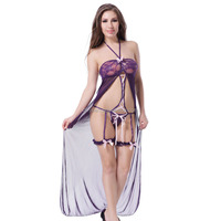 Wholesale best selling ladies long sexy lingerie sex gown