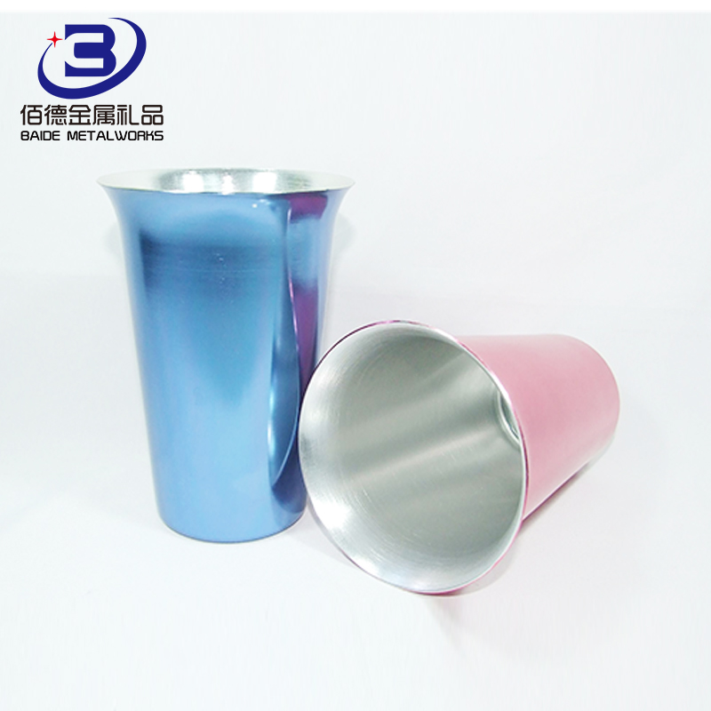 High Quality stainless steel bullet metal shot glass