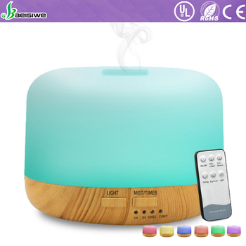 factory supply air humidifier ultrasonic aromatherapy essential oil diffuser remote control aroma diffuser