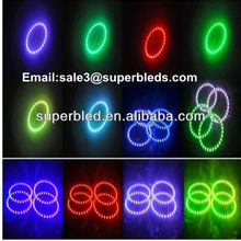 60mm 70mm 80mm 90mm 100mm LED Halo Ring angel eyes for xenon kit