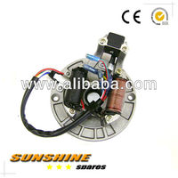 STATOR 2 POLES 6 WIRES WITH PLATE FITS MOST Chinese dirt bike