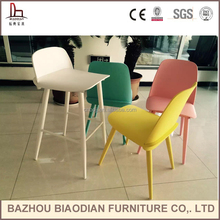 XH-8321H Nerd barstool design colorful wood bar stool and bar chair high end Nerd barstool manufacturer China