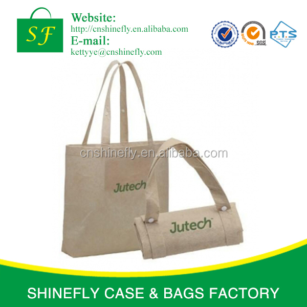 Easy carry non woven fabric folding bag