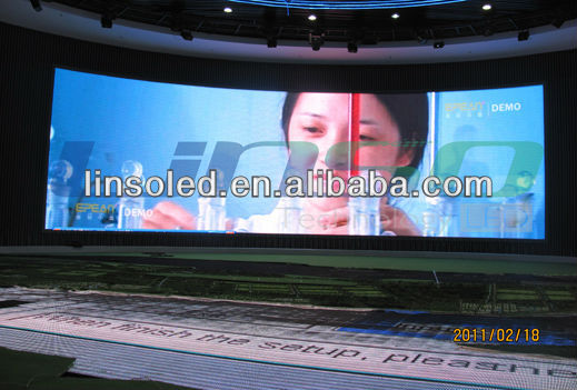 Shanghai Full Color P8mm Indoor LED Screen Display with high quality and best price