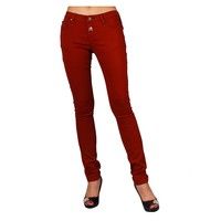 Best selling jeans pants in bangalore plain dyed sexy girls jeans pants new pattern embroidery skinny leg denim trousers