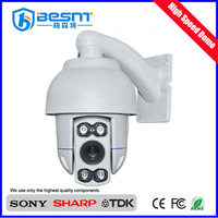Low price auto tracking 2mp 1920*1080 DWDR 3D DNR speed dome ahd infrared auto motion tracking ptz camera (BS-AHDG20K)