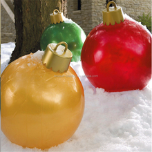 Popular Christmas decoration plastic ball made by vacuum formed