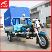 China Guangzhou Professional Supplier 150cc Motorized Cargo Tricycle With Rear Waterproof Cargo Cover