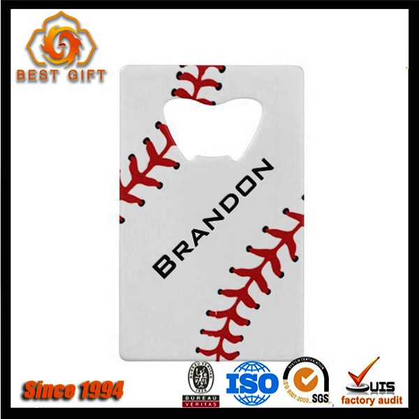 2016 Popular cheap baseball bottle opener