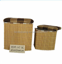 storage cube large wicker baskets with lid