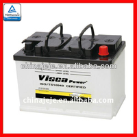 Manufacturing High Quality Lead Acid JIS Sealed MF Car Battery for Starting 56638 12V66AH VISCA
