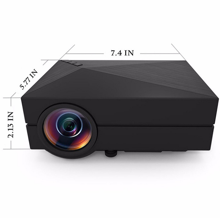 GM60 Projector full HD home theater tv led mini proyector date show 1080p home projector