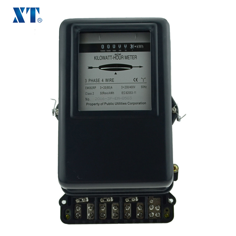 ENERGY METER EXPERT / Three phase four wire mechanical ct operated meter kwh electric meter with metal cover